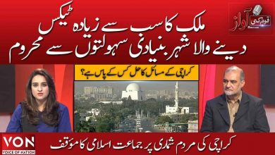 Jamaat-e-Islami's position on Karachi census |Quam ki Aawaz ( Part 2) | Voice of Nation